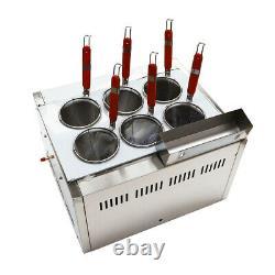 Pasta Cooker Noodles Maker Cooking Machine 6 Trous Panier Filtre Chaudière À Nouilles