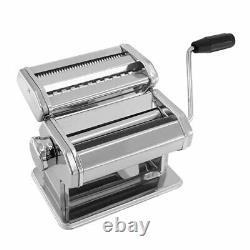 Pasta Machine Noodle Making Manual Maker Hand-turned Différents Engrenages Épaisseur