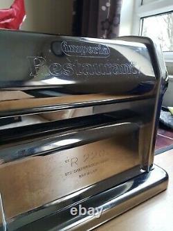 Pasta Machine Pro Maker Imperia Rmn 220 Manuel Italien Restaurants Series