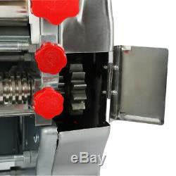 Pâtes Électrique Commercial Press Maker Noodle Machine 3 MM / 9 MM Pâte Une Pression