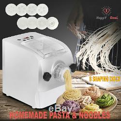 Pâtes Électrique Maker Automatique Machine De Nouilles Spaghetti Avec 8 Disques Mise En Forme