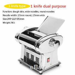 Pâtes Électriques En Acier Inoxydable Maker Nouilles Pâte Rouleau Machine 2.5mm Cutter