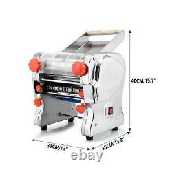 Pâtes Électriques Press Maker Boulette Wonton Peau Noodle Machine 370-550w 110v