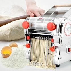 Pâtes Électriques Press Maker Noodle Machine Commerciale En Acier Inoxydable Accueil 750w