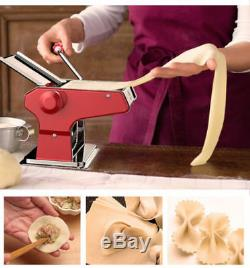 Pâtes Maison De Nouilles Machine De Fabrication De Pâtes En Acier Inoxydable Maker Rouleau 2 Mm-9 MM