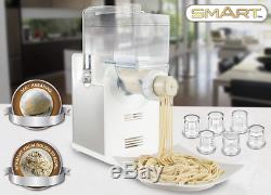 Pâtes Smart Making Machine Bundle Gratuit Râpe À Fromage Entièrement Automatique Spm400-ss