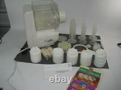 Popeil P400 Automatique Pasta Maker Food Machine Préparateur 24 Dies Extras Voir La Vidéo