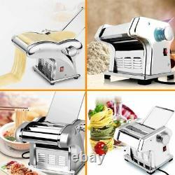 Pp Electric Pasta Maker Noodle Maker Roller Machine 6 Réglage De L'épaisseur 1 Coupeur
