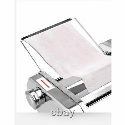 Pp Electric Pasta Maker Noodle Maker Roller Machine 6 Réglage De L'épaisseur 2 Cutter