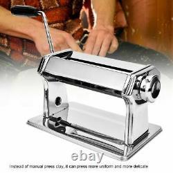 Presse À Argile En Polymère Métallique / Machine À Pâtes Pour Argile 7 Niveaux Réglables