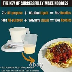 Razorri Pâtes Électriques Et Noodle Maker Automatic Pasta Machine Compact Siz