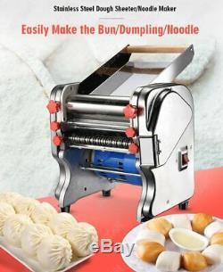 Rouleau Laminoir De Nouilles Pasta Ravioli Maker Machine Commerciale Électrique Pâte