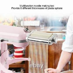 Set De Cutter De Rouleau De Machine De Fabrication De Pâtes 3 Pièces Pour La Pièce De Mélangeur D'aide À La Cuisine