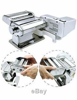 Shule Machine À Pâtes Maker Manivelle Moteur Comprend Et Rouleaux Multifonctions