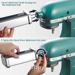 Spaghetti Fettuccine Pasta Maker Machine Attachment Pour Kitchenaid Stand Mixer