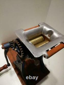 Tanaka Noodle Making Machine Works Style Japan Rétro Antique Rare