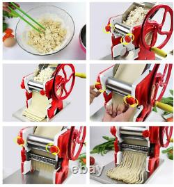 Tfcfl Multi-fonctionnel Manuel Noodle Pasta Dumpling Skin Maker Machine Presse USA