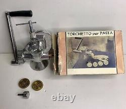 Torchietto Johannes Manual Machine Maker Fresh Pasta Vintage Made In Italy