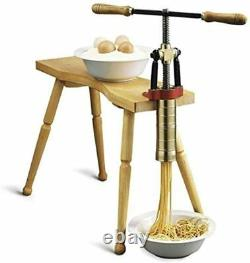Torchio Bigolaro Main Presse Pasta Maker Bottene Italie Noodle Machine