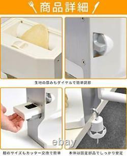 Versos Lavable Noodle Making Machine Vs-ke19 Udon Pasta Soba Maker Nouveau Japon