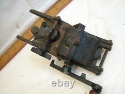 Vintage Cast Fer Cavatelli Pasta Machine Noodle Cutter Outil Fabricant Gnocchi