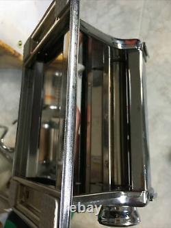 Vintage Marcato Atlas Modèle 150 Machine À Pâtes Italie Bundle Pièces Jointes