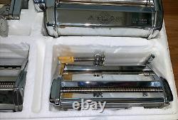 Vintage Marcato Atlas Multipast Machine Making Set, Ensemble De 5 Pièces, Italie