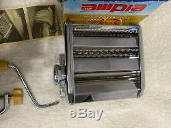 Vintage New Old Stock Marcato Ampia Brevettata Mod. 150 Machine À Pâtes Fait Italie