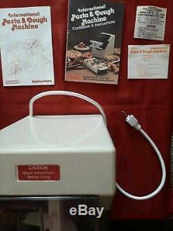 Vintage Pasta Express Ctc / Osrow Pm-10 Pasta Machine Électrique Maker Mixer