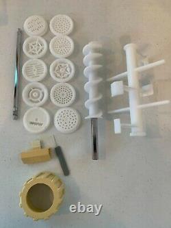 Vtg Farberware Automatic Electric Pasta Pro Noodle Maker Machine Modèle Fpm100