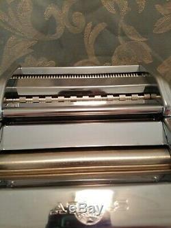 Vtg Marcato Atlas N ° 150 Deluxe Machine À Pâtes-clean Brand New Cond-5 Pasta Type